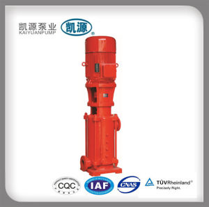 Xbd-Dl Vertical Single-Suction Multistage Centrifugal Fire Pump pictures & photos