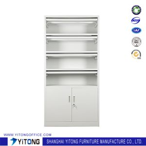 2-Door Magazine Rack Metal Storage Cabinet / Office Use Steel File Cabinet pictures & photos