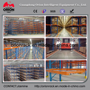 Steel Structure Very Narrow Aisle Pallet Shelf Rack pictures & photos