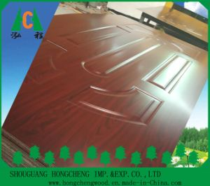 2.7mm-4.0mm Melamine High Glossy HDF Door Skin for Interior Doors pictures & photos