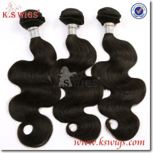 Newly 5A 100% Brzilian Virgin Human Hair Weft Extension pictures & photos