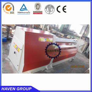 PLC control hydraulic metal plate rolling machine W12S-30X4000 pictures & photos