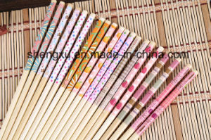 Nice Design Chinese Wood Bamboo 22cm Length Chopsticks Sx-Cc006 pictures & photos