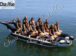 High Quality Inflatable Whale Boat for Water Park (CYBT-1515) pictures & photos