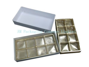 Gloden Pet Plastic Blister Tray for Chocolate pictures & photos