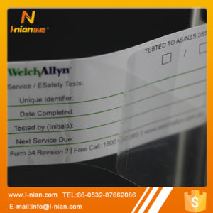 Double Layer Writable Label with Protection Film pictures & photos
