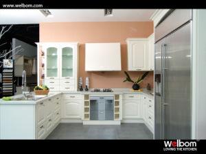 Welbom Simple European Design PVC Kitchen Cabinet pictures & photos
