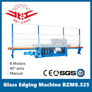 Glass Edging Machine 8 Motors Manual Operation (BZM8.325) pictures & photos