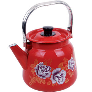 20cm Enamel Kettle for Mare′s Milk pictures & photos