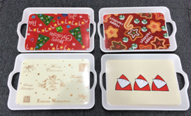 Cheap Plastic Food Serving Tray pictures & photos