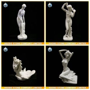 Hand Carved Stone Sculptures Mermaid Design pictures & photos