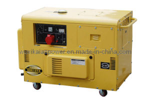 10kVA Portable Silent Type Diesel Generator (KDE12T3) pictures & photos