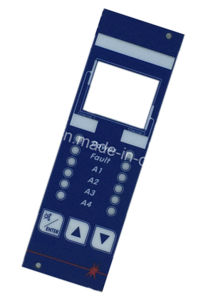 Custom Windows Membrane Switches with Metal Dome for Control Unit