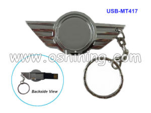 Asia Wing with Keychain USB Memory Stick (USB-MT417)