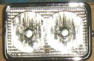 Motorcycle Head Lamp, Double Bulb for Jaguar