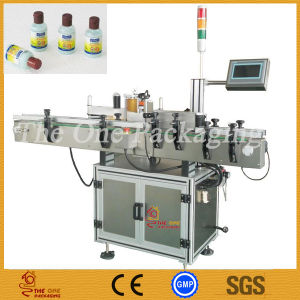 Single Side Bottle Labeling, Round Bottle Labeling Machine Torl-630A pictures & photos