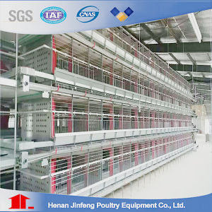 H Type Automatic Agriculture Equipment Farm Chicken Cage for Layer Broiler Pullet pictures & photos