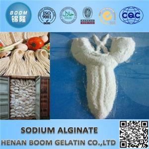 Food Additives White Powder Sodium Alginate pictures & photos