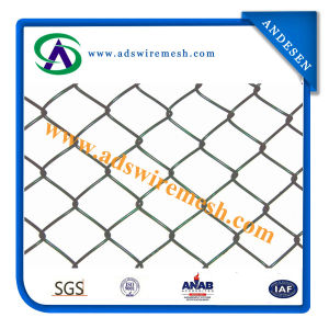 Hot DIP Galvanized Chain Link Fence for Factory pictures & photos
