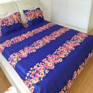 100% Cotton T205 Twill Printed Bedding Sets/Printed Bed Sheets