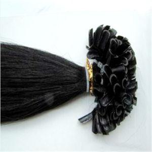 Wholesale U-Tip Pre-Bonded Hair Extension Brazilian Remy Hair pictures & photos