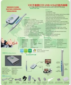 Cheapest Wire Dental USB+VGA out Camera Intra Oral pictures & photos