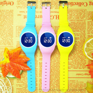 Children Smart GPS Tracking Watch with WiFi Database (D11) pictures & photos