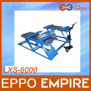 High Quality 2800kg Single Cylinder Hydraulic Scissor Car Lift pictures & photos