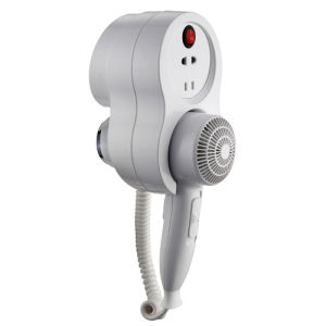 Wall-Mounted Hairdryer with Premium Smart 1600 Shaver pictures & photos