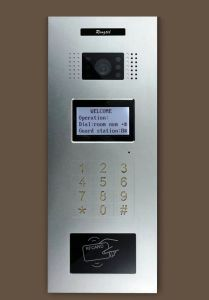 Metal Touch Outdoor Panel with Keypad pictures & photos