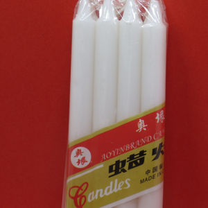 Wholesale Cut off 20% White Paraffin Wax Candle for Middeast pictures & photos
