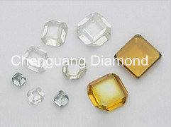 Square Shape Mono Crystal Diamond Wafer/Plates for Cutting Tools pictures & photos