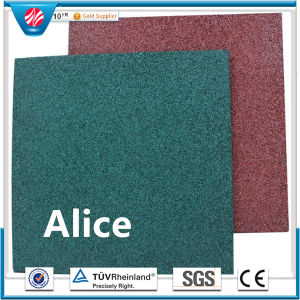 Gym Rubber Tile/Rubber Floor Tile/Colorful Rubber Paver pictures & photos