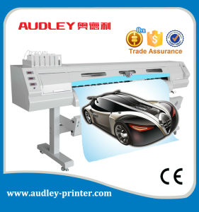 Audley 6 Color Digital Flex Banner Printing Machine with Two X5 Heads pictures & photos