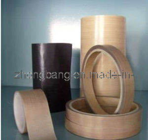 High Density PTFE Coated Fiberglass Adhesive Tape/Fabrics pictures & photos