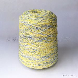 Boucle Yarn with Space Dyed Color in Acrylic/Polyester pictures & photos