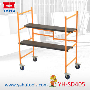 Indoor Scaffolding/Mobile Mini Rolling Scafflold pictures & photos