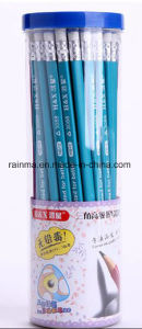 2017 Triangle Hb Wooden Pencil in PVC Barrelled Tube pictures & photos
