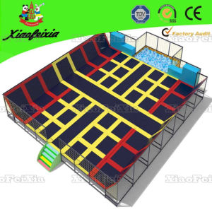 Large Size Indoor Trampoline (14-7-7) pictures & photos