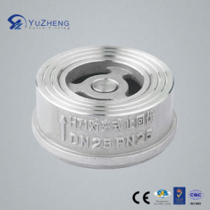 H71W Disc Type Wafer Check Valve pictures & photos