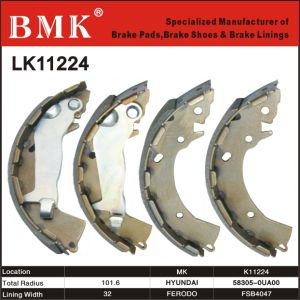 High Quality Brake Shoe (K11224) for Hyundai pictures & photos