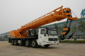Very Cheap HOWO Mobile Truck Crane Qy50g of 50t pictures & photos