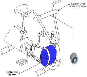 Body Fitting equipment Torque Control Hysteresis Brake
