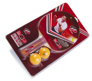 Table Tennis Set - 1 Racket with 2 Balls (603-2H)