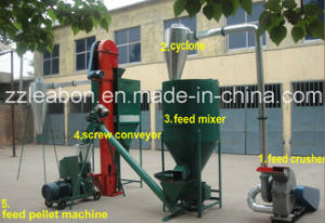 500-1000kg. H Farm Use Animal Feed Pellet Production Line Machine pictures & photos