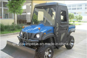 EPA 4X4wd 500cc UTV with Cab and Snow Plow pictures & photos
