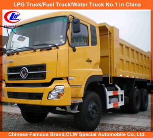 Heavy Duty Dongfeng 25cbm 40 Tons Front Tipping Truck pictures & photos