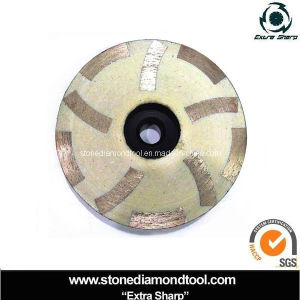 4 Inch Resin Bond Diamond Cup Wheel for Stone Polishing pictures & photos