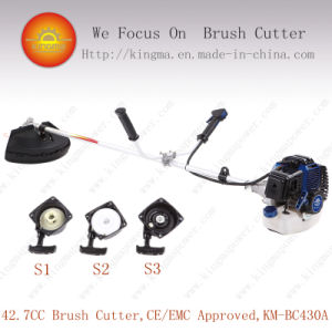 42.7cc Side-Attached Bc 430 Brush Cutter with 1e40f-5 Engine