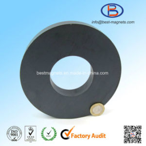 D140xd60X20 Y30bh High Quality Ring Shape Anisotropic Ferrite Magnets pictures & photos